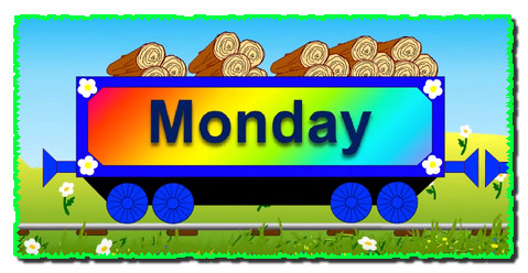 Days of the week song with Choo-Choo train. Trains cartoons for children.